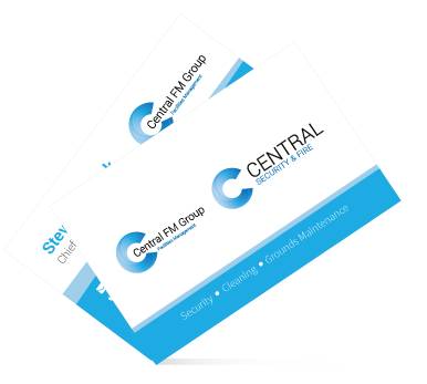 Central FM Business Cards